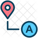 Route Direction Place Icon