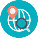 Destination Direction Finder Icon