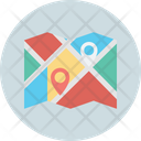 Destination Address Finder Gps Location Pin Icon
