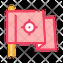 Destination Flag Goal Icon