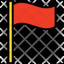 Destination Flag Flag Golf Flag Icon