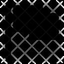 Destination Flag Mark Icon