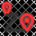 Destination Location Route Location Route Icon