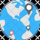 Destination Thumbnail Different Location International Travel Icon