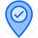 Destination Verification Verified Location Location Verified Icon