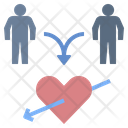 Couple Destiny Heart Icon