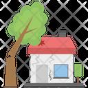 Forest Destruction Home Destruction Earthquake Icon