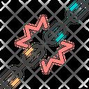 Supply Chain Desupply Chain Recalibrate Icon