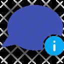 Detail Infomation Talk Icon