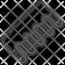 Detangling Comb Icon