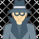Investigator Incognito Spy Icon