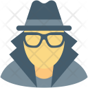 Detective Incognito Robber Icon