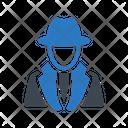 Detective Agent Spy Icon