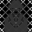 Agent Detective Spy Icon