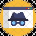 Detective Spy Security Icon