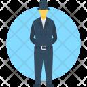 Detective Spy Secret Icon