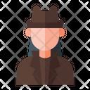 Detective Agent Incognito Icon