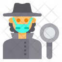Detective People Occupation Icon