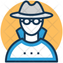 Detective Investigator Enquiry Icon