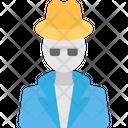 Detective Agent Icon