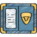 Detective Badge Policing Law Icon
