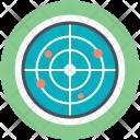 Detector Microwave Radar Icon