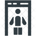 Detector Gate Security Icon