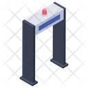 Detector Gate Security Door Body Scanner Icon