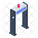 Metal Detector Detector Gate Gate Scanning Icon