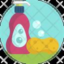 Detergent Sponge Handwash Icon