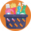 Detergent Basket Cleaning Tools Icon