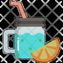 Detox Drink Lemon Juice Lemon Drink Icon