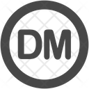 Deutsche mark Icon