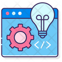 Dev Environment Development Programming Icon