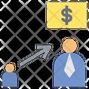 Develop Finance Grow Icon