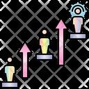 Develop Career Development Icon