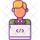 It Department Computer Developer Web Designer Icon