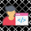 Developer Coder Coding Icon