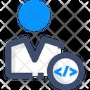 Developer Progeammer Coder Icon