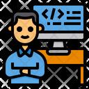 Developer Programmer Development Icon