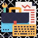 Briefcase Development Job Icon