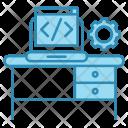 Developer desk Icon