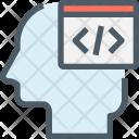 Coding Human Mind Icon