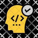 Mind Coding Programming Icon