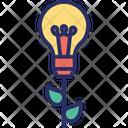 Developing The Process Idea Development Innovating Icon