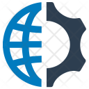 Browser Communication Connection Icon