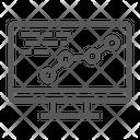 Development Optimization Coding Icon