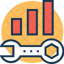 Development Bar Graph Icon