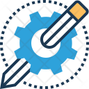 Development Tool Gear Icon
