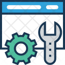 Development Configure Spanner Icon